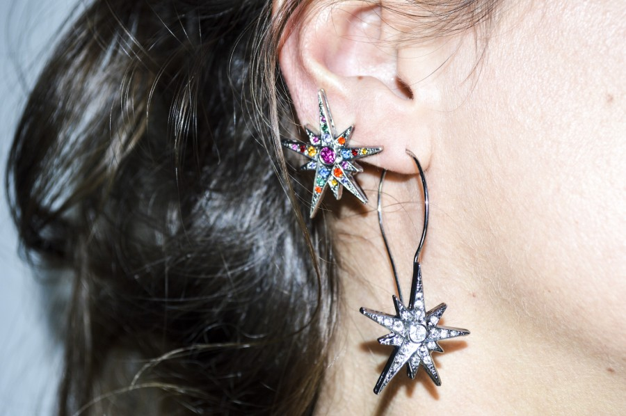 Earring Star Duo