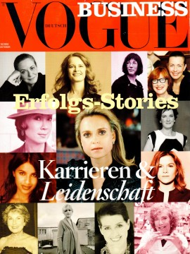 2009 Cover Business Vogue